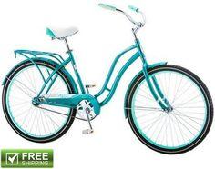 "SCHWINN CRUISER BIKE WOMEN'S 26"" BEACH RIDING CITY COMFORT BICYCLE SPRING SADDLE  | eBay"
