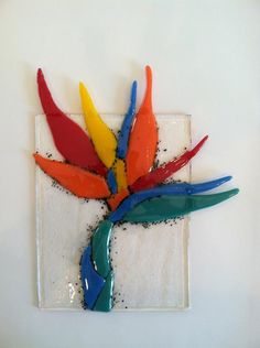 Bird Of Paradise - Delphi Stained Glass