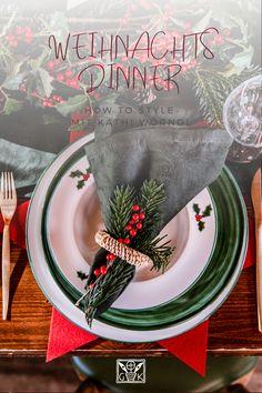 """Oder würdet ihr Weihnachten lieber so festlich mit unserer """"Winterbeere"""" feiern? 😍 Die Tischinspos mit einem ausführlichen """"How to style"""" von @Kathi Wörndl findet ihr übrigens auf unserer Website ☺️ Dort findet ihr auch noch mehr über unseren Aufenthalt an einem ganz besonderen, beflügelnden Ort von TAUROA - dem Gästehaus Krenn in Pürgg 😉 #gasthauskrenn #tauroa #befluegendeorte #gmundnerkeramik #handgefertigt #handmade #madeinaustria #österreich #austria #winterbeere #winterberry #illex"""