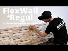 Regul és Flexpanel PVC falpanelek beépítése - felrakása: a könnyen tisztítható falburkolat - YouTube Youtube, Home, Youtubers, Youtube Movies