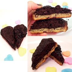 whats more lovable than a mint chocolate chip @krushbars heart cake?! find the single serving, healthy recipe here!