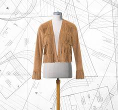 Sewing Lesson: Fringe Jacket 122 05/2016