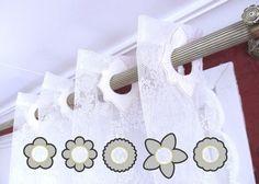 Curtain holes  Flowers  6 styles  In The Hoop machine by artapli