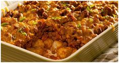 Ore-Ida - Recipes - Sloppy Tots