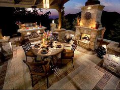Gorgeous Backyard...Tuscan Style                                                                                                                                                                                 More