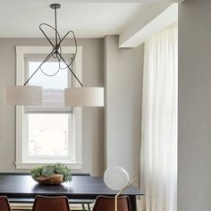Custom Double Shaded Pendant looking sharp at Roost Rittenhouse via workstead- gorgeous, lighting, design