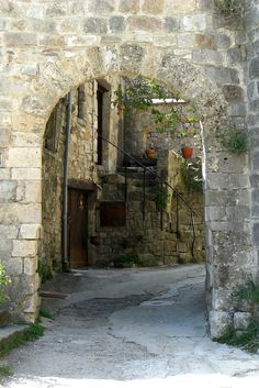 The beautiful village of Cantobre in southern France. France, Beautiful, French Resources
