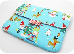 Gnome for the Holidays iPad Sleeve