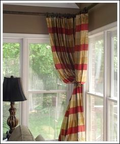Decorating Ideas Made Easy Blog: Living Room Curtain Ideas · Corner Window  ...