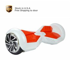 Lamborghini Hoverboard Two Wheels Electric Scooter 6.5 Inch White