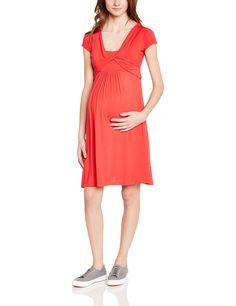 Pietro Brunelli - Gentiana, Vestito da donna, manica corta, rosso(rot - rouge (bloody mary)), taglia produttore: 34: Amazon.it: Abbigliamento