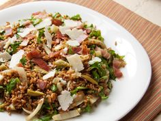 Warm Whole Grain Salad With Fennel, Arugula, Prosciutto, and Pecorino | Serious Eats : Recipes