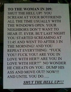 Noisy neighbor