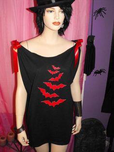 bat mini dress