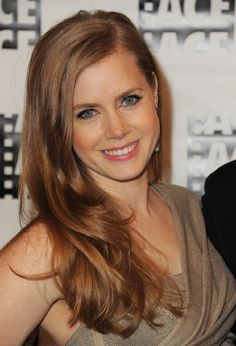 Amy Adams / on the hunt for some redhead makeup inspiration.