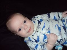 an older pic of my favorite little boy!