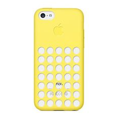 Rubber Case for Iphone 5C Apple - Yellow by iProtect on Opensky