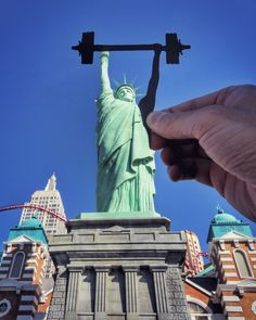 A contemporary point of view of the Statue of Liberty by Rich McCor (aka Paperboy)