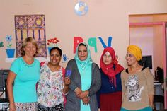 Today we visited a women's shelter on the outskirts of Marrakech. They are doing a fantastic job by supporting and empowering women escaping violent or abusive situations, such as rape and domestic violence.