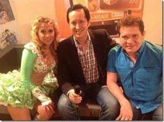 Em entrevista a uma rede local durante a turnê , Festival Latino Americano de Milão – Itália (10/08/2012)
