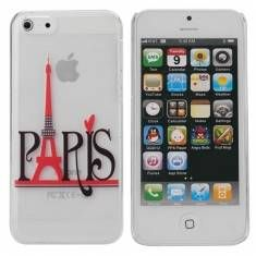 Paris Eiffel Tower Design Hard Back Case Cover For iPhone 5C