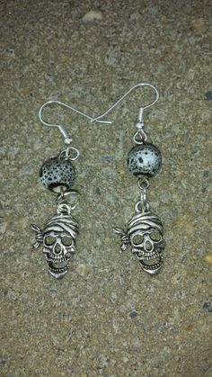 Check out this item in my Etsy shop https://www.etsy.com/listing/249490495/pirate-drop-earrings