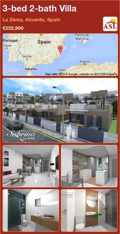 3-bed 2-bath Villa in La Zenia, Alicante, Spain ►€232,900 #PropertyForSaleInSpain