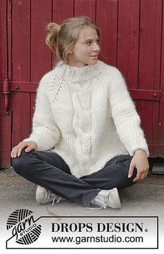 Ravelry: 183-18 Mont Blanc pattern by DROPS design