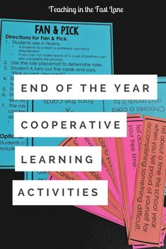 Fun end of the year cooperative learning activities for students and teachers! These low-prep high-engagement projects are geared for third grade, fourth grade, and fifth grade and will be loved by students and teachers alike. These cooperative learning activities use strategies that give students group roles and encourage community building!