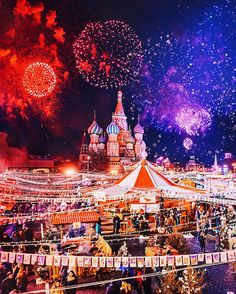 Moscow City Resembles A Fairytale Winter Wonderland During Christmas Russia-based photographer Kristina Makeeva Beautiful World, Beautiful Places, Beautiful Lights, Russia Winter, Visit Russia, Belle Villa, Places To Visit, Places To Travel, Kirchen