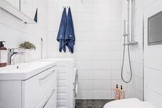 Tiny bathroom and laundry