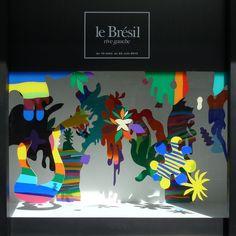 vitrine Brésil Pedro Varela le bon marché http://ephemere-etc.com/