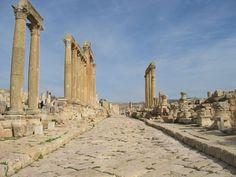 Jordania Jerash cardo maximo- Búsqueda de Google