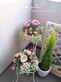 Flower Basket, Dream Garden, Pretty Flowers, Potted Plants, Botanical Gardens, Container Gardening, Floral Arrangements, Centerpieces, Floral Wreath