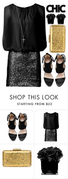 """""""CHIC"""" by amilla-top ❤ liked on Polyvore featuring KOTUR, Hervé Gambs, Ileana Makri, women's clothing, women's fashion, women, female, woman, misses and juniors"""