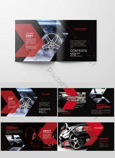 Set of black car Brochure corporate branding brochure design layout Yearbook Pages, Yearbook Layouts, Yearbook Spreads, Car Brochure, Brochure Layout, Brochure Template, Design Brochure, Corporate Branding, Identity Branding