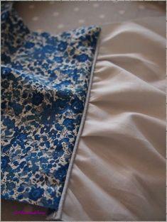 Tuto pose de passepoil sur couture anglaise