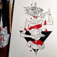 Tumblr Artist: @corviday; @sekizuDA/IG [Support Them On Patreon]