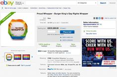 $1,000 Burger King 'Proud Whopper' eBay Listing Proves Some People Need a New Hobby