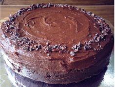 Raw Vegan Chocolate Cake by RawFoodforLife.org