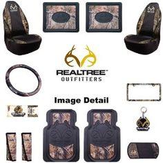 front rear heavy duty floor mats universal seat covers steering wheel cover key chain seat belt pads air freshener cd visor license plate frame combo