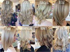 50 cabelos com #mechas #loiras para te inspirar a se transformar e iluminar seus fios! Tem 2 #tutorial #passo-a-passo para você aprender #comofazer nos seus fios, vem ver! #salaovirtual