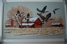 Dimensions - 13732 Winter Geese
