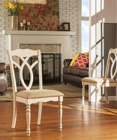 Look at this #zulilyfind! Allison Country Dining Chair - Set of 2 by HomeBelle #zulilyfinds