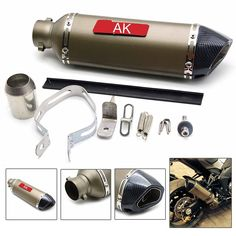 69.69$  Buy now - http://alicvy.shopchina.info/1/go.php?t=32720462315 - Motorcycle Modified Exhaust Scooter Muffler  for yamahaMT07 MT09 MT01 FZ 0709 YZF-R6 Zuma 50FX YZR-R1 R25 R3 YZF-R1S R15 R1 TMAX  #aliexpress