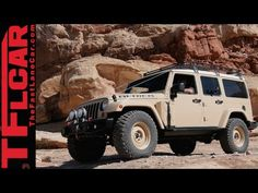 Jeep Wrangler Africa Concept: The One We Really Want Them to Build | TFLCar.com: Automotive News, Views and Reviews