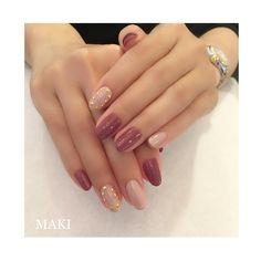 ROCKSTUD VALENTINO✨ 秋冬新色のヌードとモーヴにヴァレンティノのロックスタッズをイメージして♡ #nail#nails#nailbymaki#makifujiwara#naildesigns#elegant#beauty#mauve#autumn#studs#valentino#rockstud