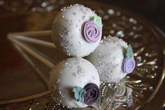 HCP Easy Roller Wedding Cake Pops Easy Royal Icing Rose