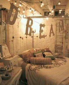 Love the Dream Letter and lights