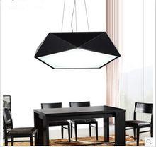modern minimalist LED geometry chandelier Restaurant Lamp Bedroom Lamp Balcony Office Study Room Hanging Wire Lighting(China (Mainland))